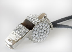 Stylish Safety DIVAS Crystal Whistle